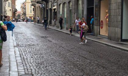 Nuova pavimentazione in Corso Cavour