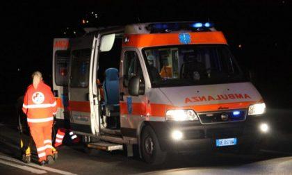 Incidente in autostrada A21 SIRENE DI NOTTE