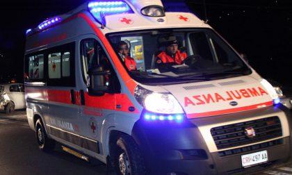 Incidente stradale a Landriano SIRENE DI NOTTE