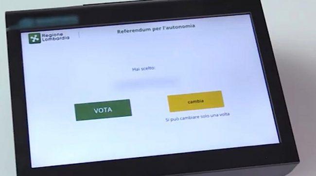 Voting machines alle scuole operazione di immagine