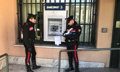 Bancomat distrutto denunciato per danneggiamento