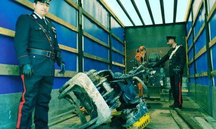 Escavatori rubati nei guai due giovani a Casei Gerola