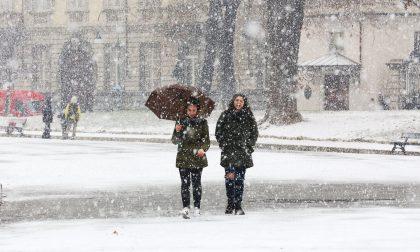 Neve nella Bassa ancora in mattinata | Rischio gelicidio?