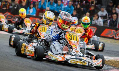 Michele Milanesi pole e quarto posto sui kart