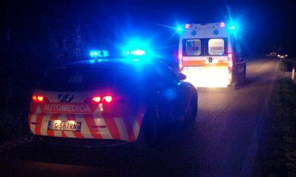 Incidenti stradali nella Bassa SIRENE DI NOTTE