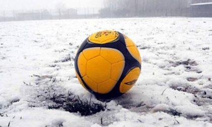 Big Snow ferma anche il calcio