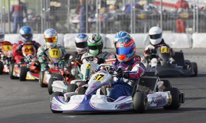 Michele Milanesi torna in pista al Big kart di Rozzano