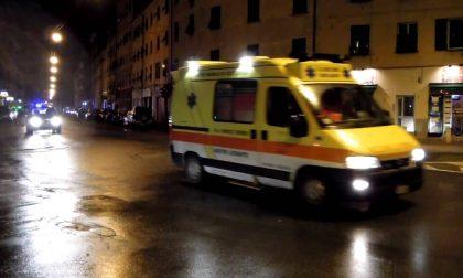 Incidenti stradali in codice giallo SIRENE DI NOTTE