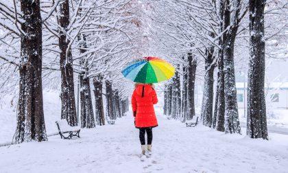 Neve Pavia secondo le previsioni continuerà anche domani