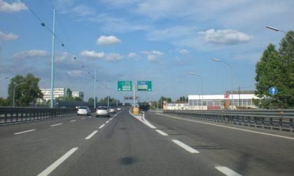Chiusura Tangenziale Ovest Pavia