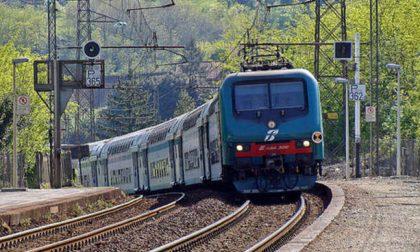 Treni Pavia Milano circolazione e linea elettrica bloccate