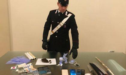 Spaccio stupefacenti arrestato pregiudicato 25enne