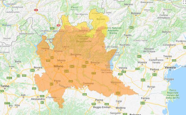 Qualità dell\'aria mediocre a Pavia e provincia I DATI DEGLI ...