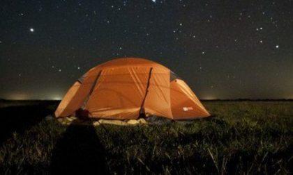 Notte in tenda al Bosco Grande