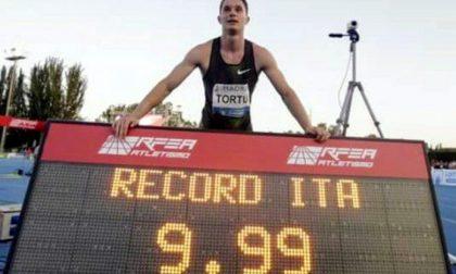 Il brianzolo Tortu è l'italiano più veloce di tutti i tempi: 9.99!