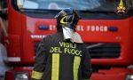 Incendio Mortara definitivamente spente le fiamme