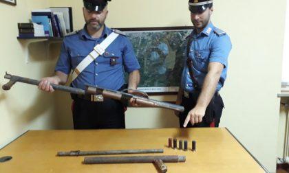 Detenzione illegale armi da fuoco: arresti e denunce