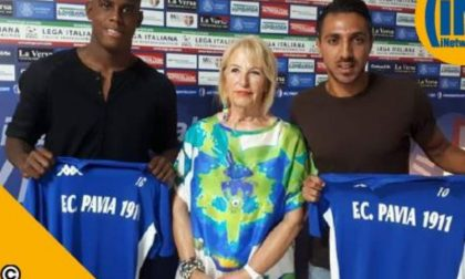 Pavia calcio, presentati Barwuah e Trajkovic