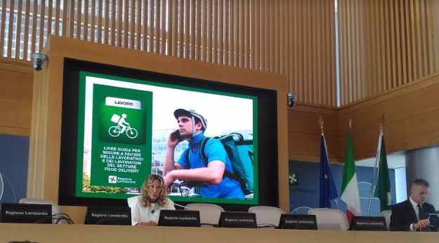 Da Regione Lombardia più tutele per i riders