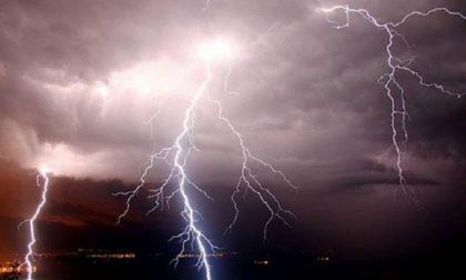 Codice giallo della Protezione Civile per temporali forti in Oltrepò