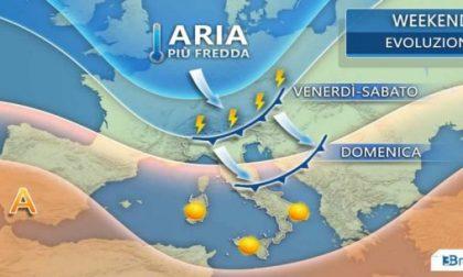 Estate in crisi nel weekend: temporali e tracollo termico PREVISIONI METEO