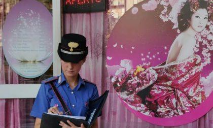 Centri massaggi: controlli straordinari da parte dei Carabinieri