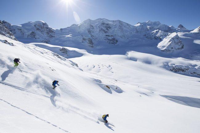 Sciare in Engadina: in alta quota i prezzi vanno in discesa libera.