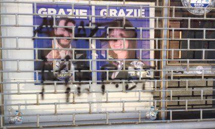 """Vandalismo sede Lega di Voghera: Lucchini """"Non ci fermeranno"""""""