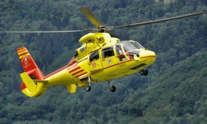 26enne pavese soccorso in montagna insieme a un amico