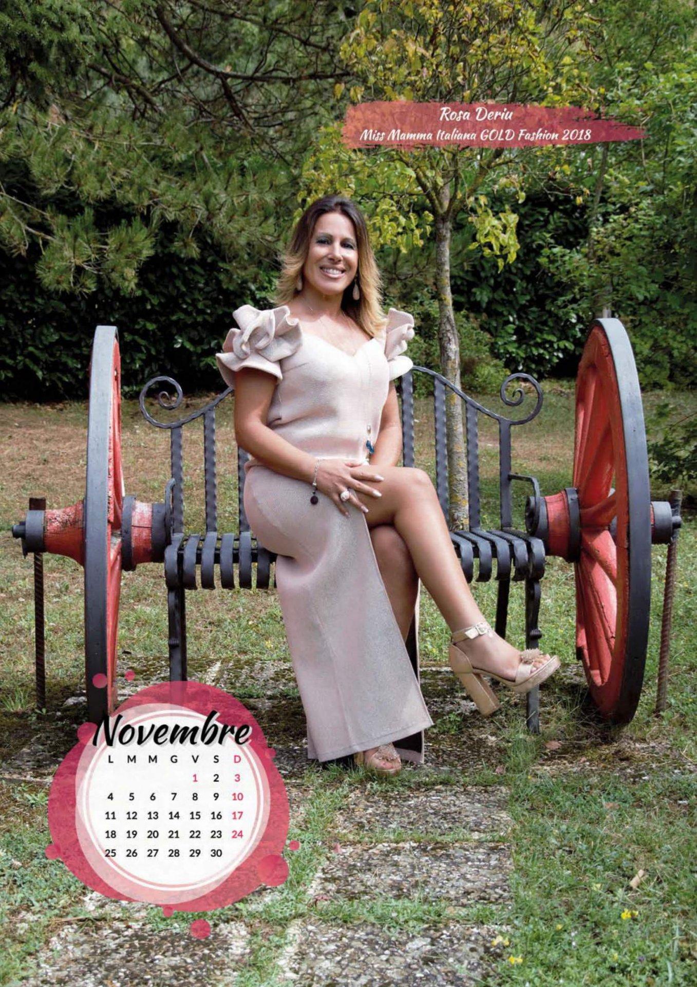 Calendario Mamme.Dopo Miss Nonna E La Volta Del Calendario 2019 Di Miss