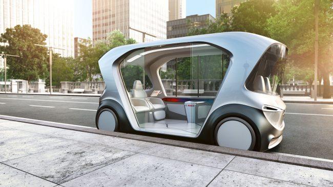 Nuovo concept Bosch, ecco la mobilità del futuro
