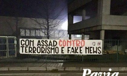 """Forza Nuova: """"Con Assad contro terrorismo e fake news"""""""