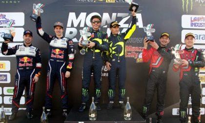 Settimo sigillo di Valentino Rossi al Monza Rally Show