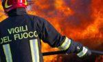 Mozzicone di sigaretta abbandonato: scoppia incendio in via Alzaia