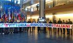 I giovani risicoltori ringraziano Angelo Ciocca a Strasburgo