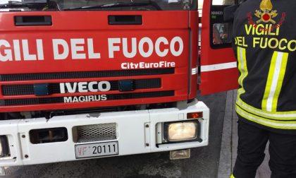 A fuoco bus di Autoguidovie carico di passeggeri
