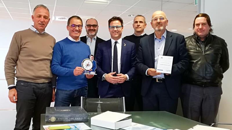 L'europarlamentare Ciocca (Lega) visita la sede Netweek