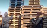 Guardia di Finanza sequestra 5mila pallet contraffatti e una discarica abusiva
