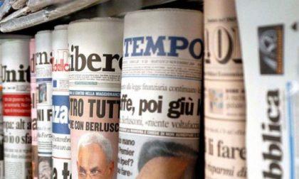 """A Bergamo la protesta degli edicolanti: """"Chiudiamo, e gli editori ci affamano"""""""
