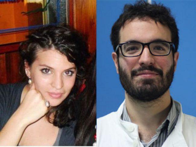 Tommaso Manciulli e Giulia Muscettola, medici 28enni dell'Università di Pavia, sono stati premiati per i loro progetti.