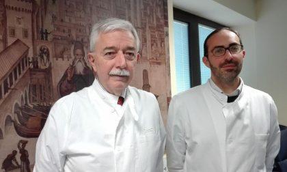 San Matteo: primo intervento in laparoscopia per un tumore alla testa del pancreas
