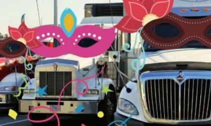 Truck in maschera per regalare un sorrisoai bambini colpiti da malattie oncoematologiche