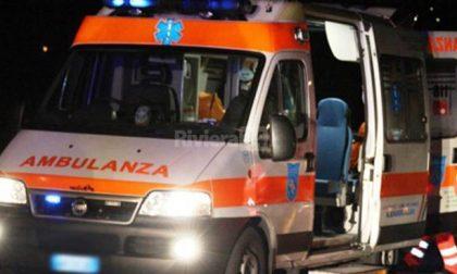 Scontro tra auto e moto a San Martino Siccomario SIRENE DI NOTTE