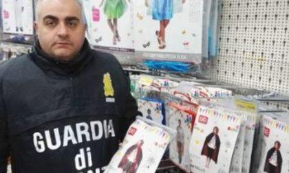 Operazione Carnevale sicuro: sequestrati centinaia di prodotti illegali