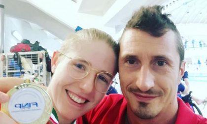 Spettacolare Chiara Cordini, per l'atleta paralimpica di Broni doppio titolo italiano di nuoto