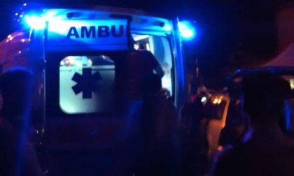 Auto contro ostacolo a Redavalle: ferito un 28enne SIRENE DI NOTTE