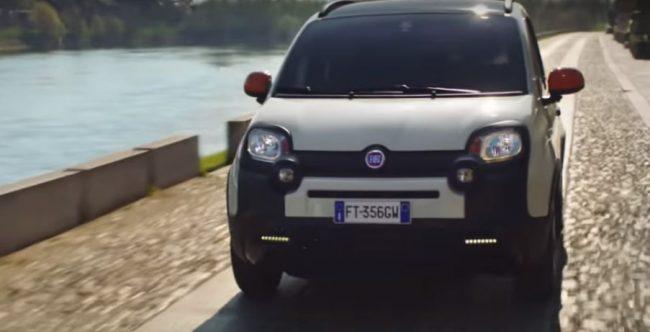 Pavia fa da scenario allo spot della nuova Fiat Panda VIDEO