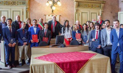 Proclamati i primi laureati dell'Università di Pavia a Voghera