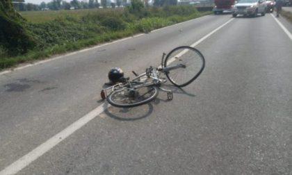 Ancora sangue sulle strade Pavesi: ciclista travolto e ucciso a Casteggio