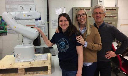 L'Università di Pavia tra i vincitori del concorso Win-a-Robot di Epson